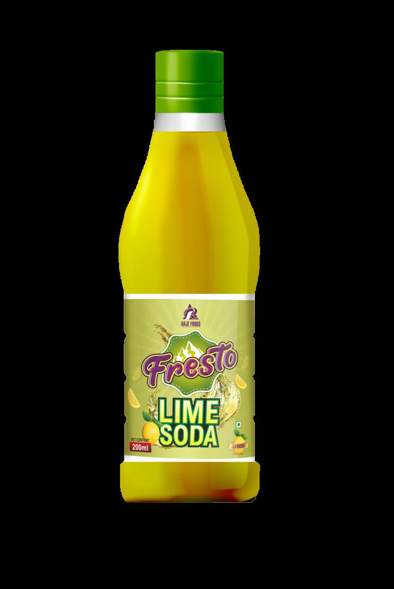 Fresto Lemon Soda Mockup-200ml