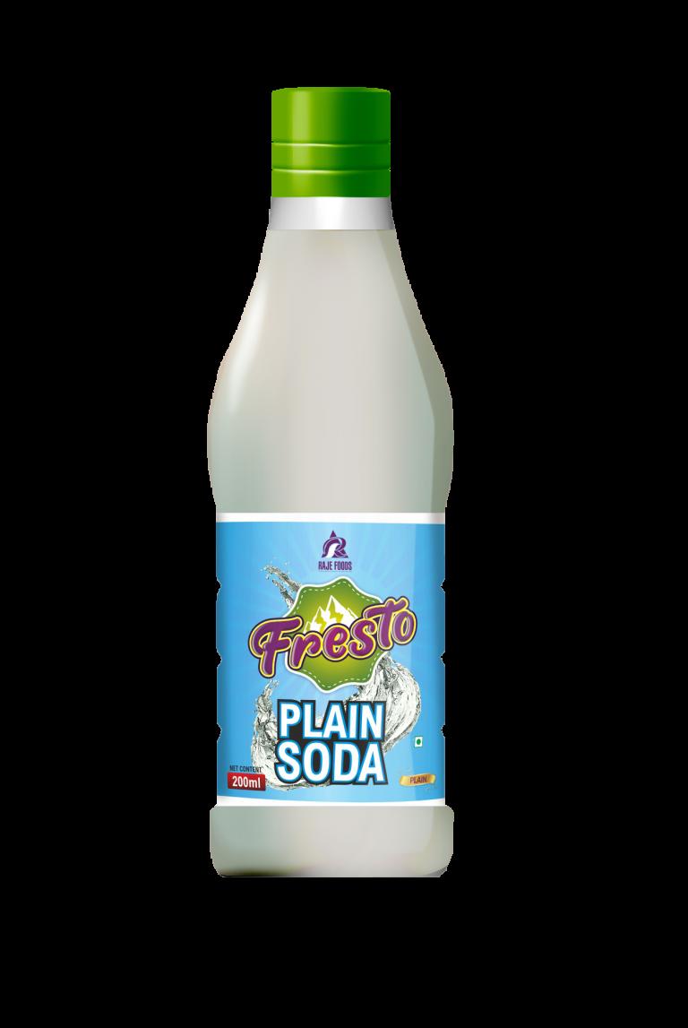 Fresto Plain Soda Mockup-200ml